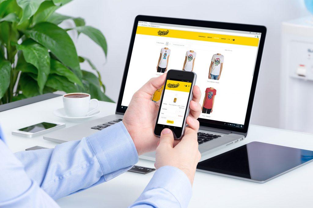 Net Fan E-Commerce Web Design